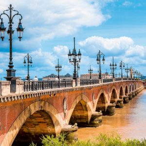 Brücke in Bordeaux, Frankreich