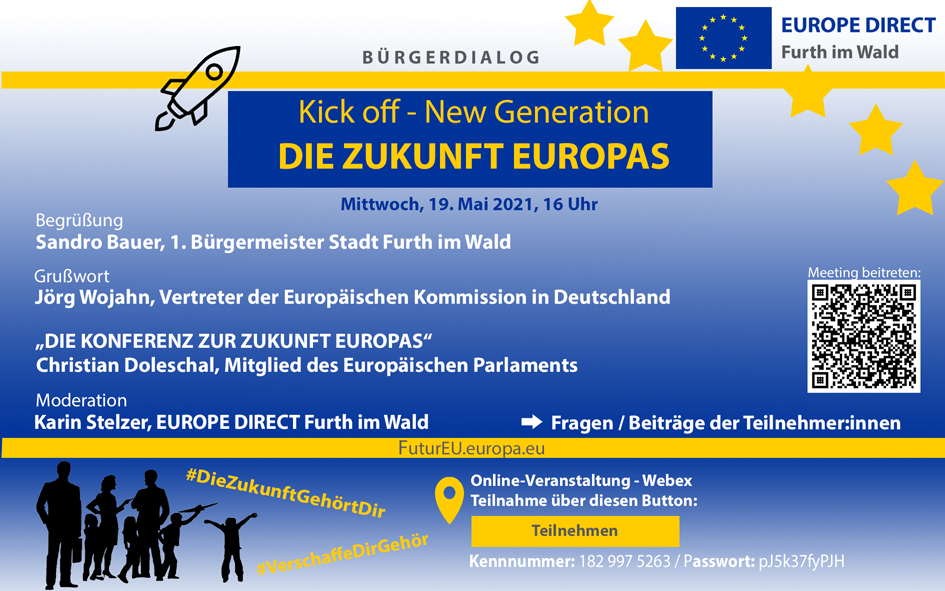 Veranstaltungsbild zur Zukunft Europas