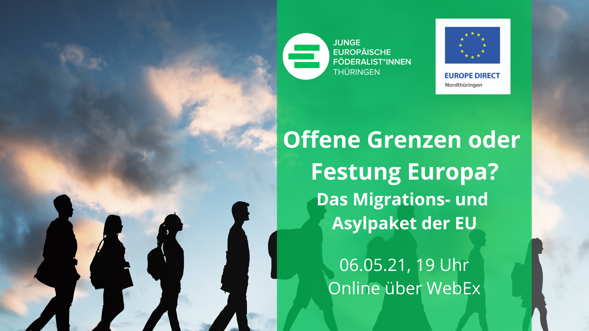 Beitragsbild Veranstaltung Offene Grenzen oder Festung Europa